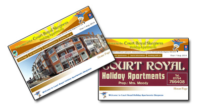Court Royal Holiday Apartments - Click Here
