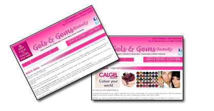 Gels and Gems Beauty - Click Here